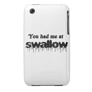 You had me at swallow iPhone 3 covers