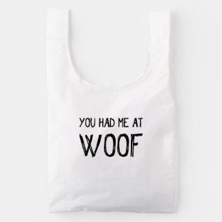 You Had Me At Woof Baggu Reusable Bag