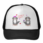 You Had Me At Woof Bernese Mountain Dog Hat