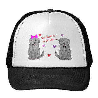 You Had Me At Woof Newfoundland Black Trucker Hat