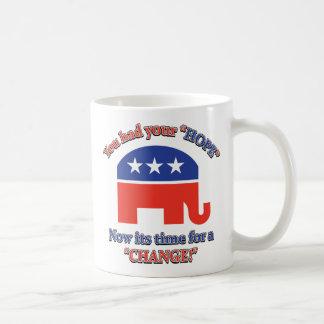 You had your Hope Its Time For Change Coffee Mug