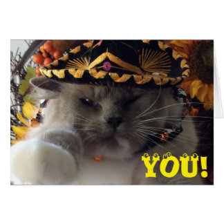 You! Have a Happy Halloween! card