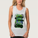 You Have a Right to Know If It is GMO Flowy Muscle Tank Top