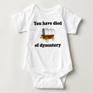 You Have Died of Dysentery Tshirts