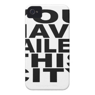 You Have Failed this CIty.png iPhone 4 Cover