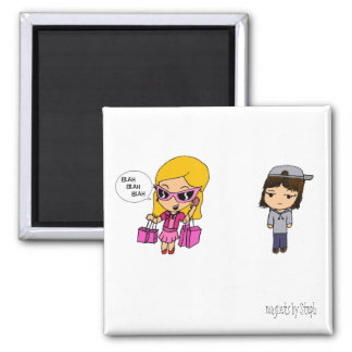 You have got to be Kidding (color)... - Customized 2 Inch Square Magnet