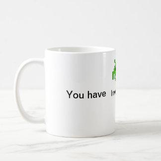 You have Invaded my Heart Mug