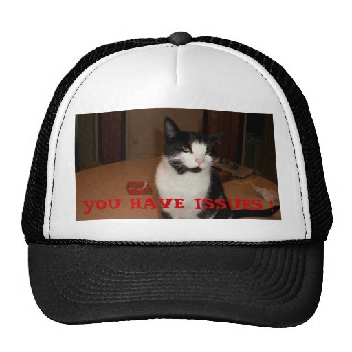 YOU HAVE ISSUES ! HAT