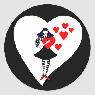 You have my Heart Round Stickers