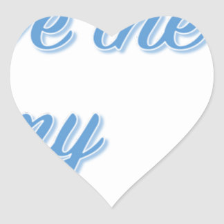 You Have the Key to My Heart Heart Sticker