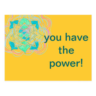 You Have the Power Postcard