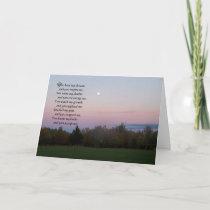 You hear my dreams...Friendship Thank You Card