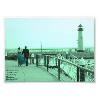 You Held My Hand Green Glow Lighthouse Kodak Profe Photo