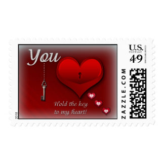 You hold the key to my heart... postage