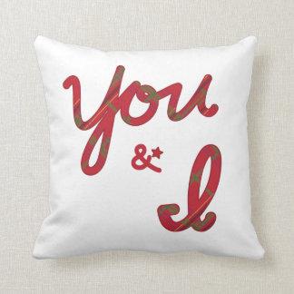 You & I Pillow