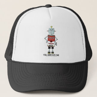 """""""YOU IRRITATE ME"""" Soup Can Robot Hat"""