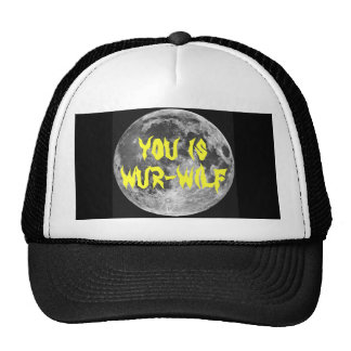 You is Wur-wilf! Mesh Hats