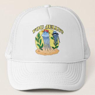 You Jelly Mustache Jellyfish Trucker Hat