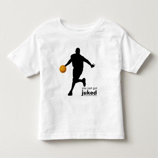 you just got juked son.... toddler t-shirt
