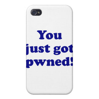 You just got pwned! iPhone 4 cases