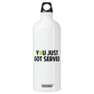 You Just Got Served Aluminum Water Bottle