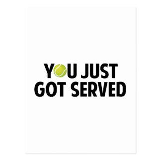 You Just Got Served Postcard
