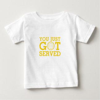 You Just Got Served volleyball coach men women Baby T-Shirt