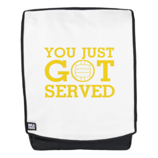 You Just Got Served volleyball coach men women Backpack