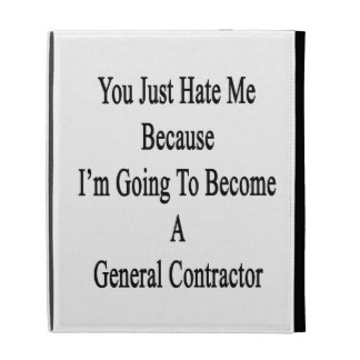 You Just Hate Me Because I'm Going To Become A Gen iPad Cases