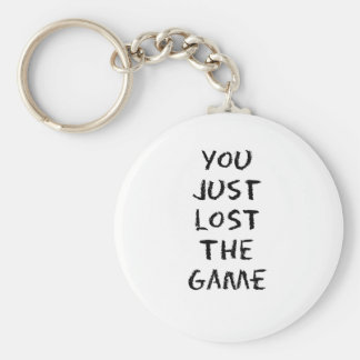 You Just Lost the Game Basic Round Button Keychain