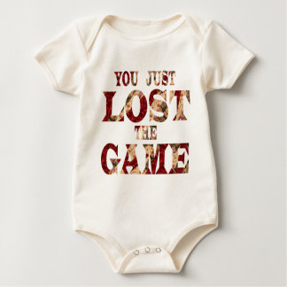 You just lost the game - Internet meme Baby Bodysuit