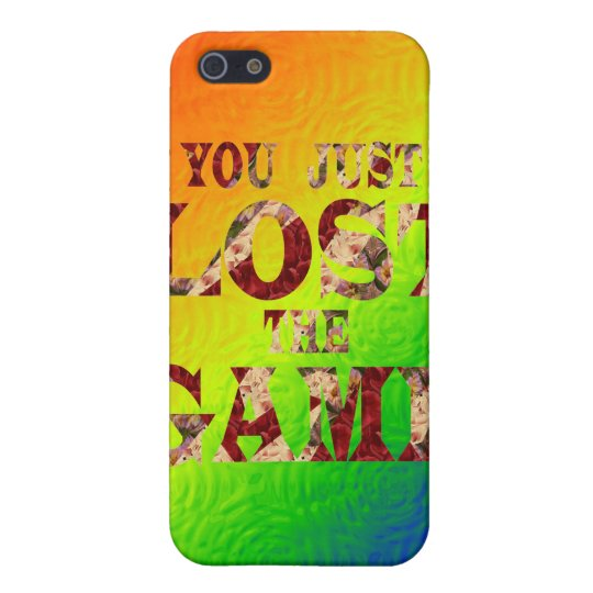 You just lost the game - Internet meme Cover For iPhone SE/5/5s