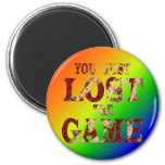You just lost the game Internet meme Refrigerator Magnet