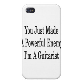 You Just Made A Powerful Enemy I'm A Guitarist Cover For iPhone 4