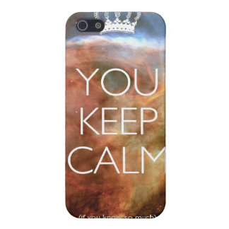 you keep calm iPhone SE/5/5s cover