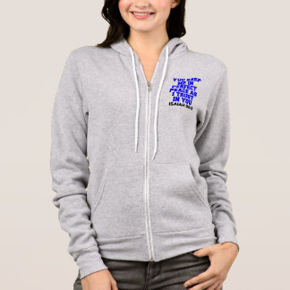 YOU KEEP ME IN PERFECT PEACE AS I TRUST IN YOU HOODIE