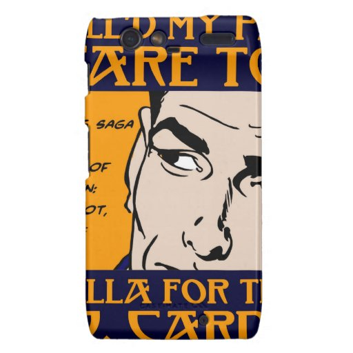 You Kill'd My Pahder Collection Droid RAZR Covers