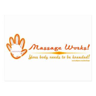 You Knead a Massage! Postcard