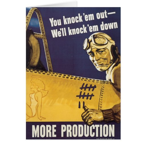 You Knock 'Em Out Greeting Cards