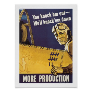 You Knock 'Em Out Poster