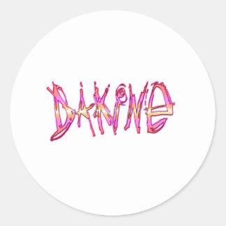 You know - da kine classic round sticker