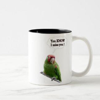 You Know I Miss You Two-Tone Coffee Mug