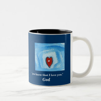 """YOU KNOW THAT I LOVE YOU"" / ARISE Two-Tone COFFEE MUG"