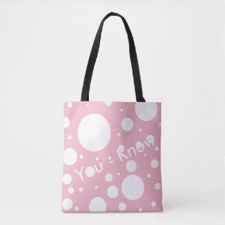 You - Know Tote Bag