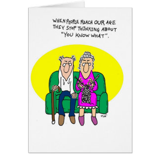 You Know What Greeting Card