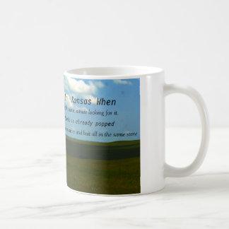 You Know you are in Kansas coffee mug