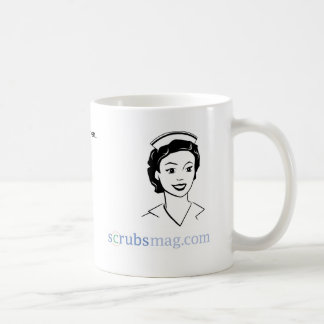You know you're a telemetry nurse when… classic white coffee mug