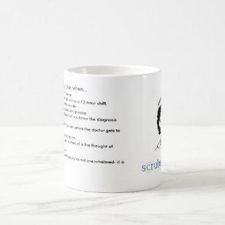 You know you're an ICU nurse when… Coffee Mug