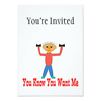 You Know You Want Me Card