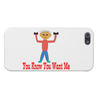 You Know You Want Me Cover For iPhone SE/5/5s